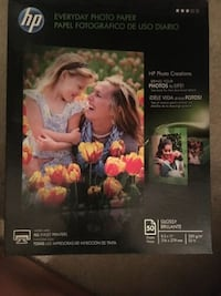 HP Everyday Photo Paper 8.5x11 Glossy - New! Moore