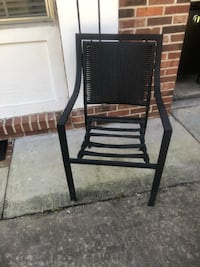 Two Dark Brown Metal Chairs  Deland, 32720