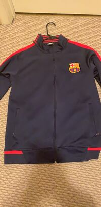 Real Barcelona zip up jacket brand new Sterling, 20166