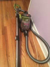 black and gray upright vacuum cleaner Toronto, M1E 2C1