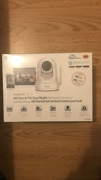 white Connected Home network camera box Toronto, M9N 3V8