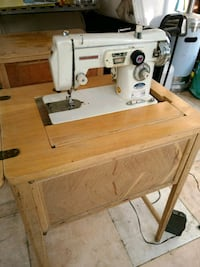 Vintage Morse Sewing Machine w/ Wood Table Eastvale