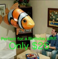 BRAND NEW-Remote control flying Nemo balloon toy