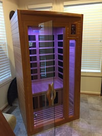 Dynamic Barcelona 2-person FAR Infrared Sauna Silver Spring