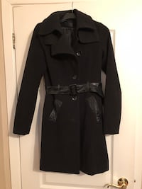 Rudsak wool coat with leather  Montreal, H1R 1R3