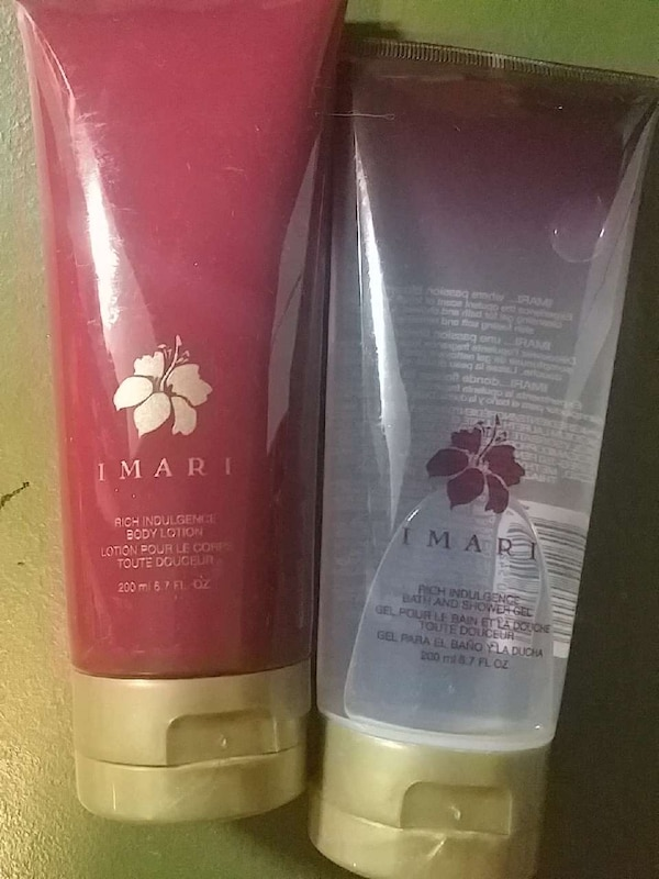 huge discount bad0a c3b2e two Avon Imari body lotion and shower gel soft tubes