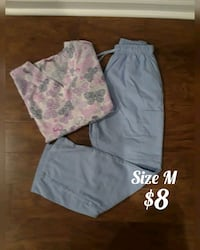 nurse clothes size M Olney