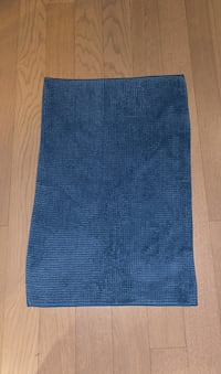 Blue Bathroom Mat Rug IKEA
