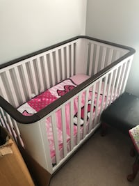 Crib never used  brand new