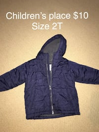 blue zip-up hoodie Chestermere, T1X 0G4