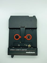 Sparkomatic 8 Track To Cassette Adaptor SCA 10 with case Vintage electronics