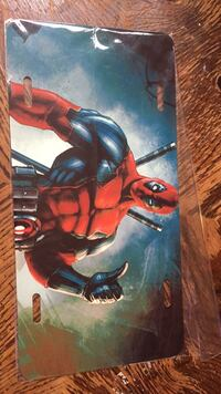 Deadpool liscence plate Albuquerque, 87111