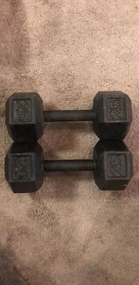 25 lb weights (2) Exton, 19341