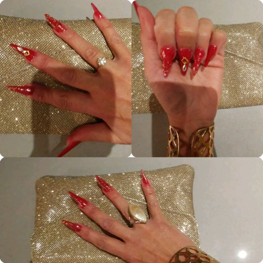 Pose d'ongles, recouvrement, Shellac, etc.