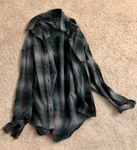 Forever 21 green plaid flannel  North Chesterfield, 23237