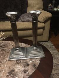 Silver Candle Stick Holders Greenville, 29605