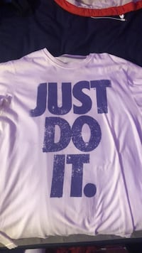 Nike Just do it shirt size L Cold Spring, 56320