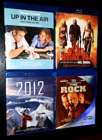 4 Bluray Movies for $10! Vancouver, V6E 1X7
