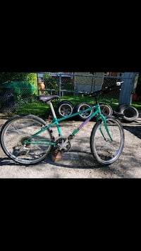 green and black hardtail mountain bike Orangeville, L9W 1H7