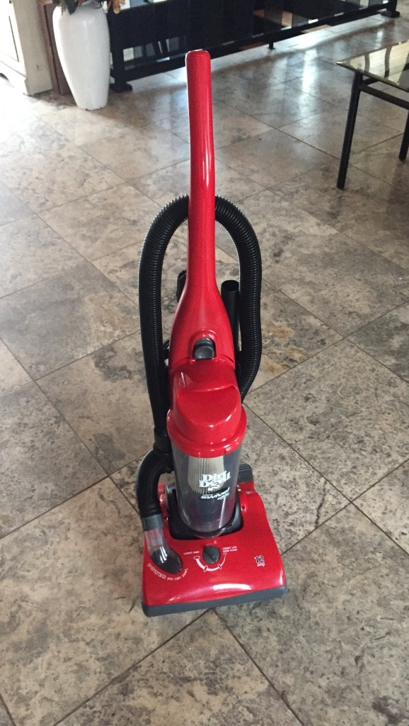 red Dirt Devil upright vacuum cleaner for sale  null