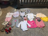 Baby girl clothes! Gently used some still brand new! Ogden, 84404