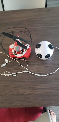 Helicopter and panda audio speaker
