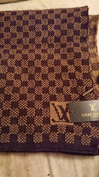 brun Louis Vuitton halsduk Gothenburg, 421 38
