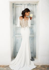 Justin Alexander Pre-owned Bridal Gown Style 8936 Arlington, 22201