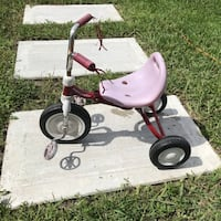 white and red Radio Flyer trike North Miami Beach, 33162