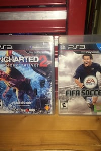 2- PS3 games Clarksville, 37043