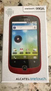 New phone Alcatel ontouch 990a unlocked