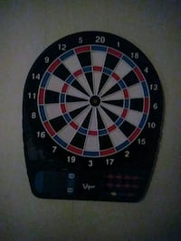 black, red, and white dartboard Fort Worth, 76114