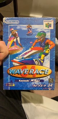 Wave Racers Nintendo 64 (Japanese Edition new still in Wrapping) Washington, 20016