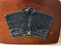 women's blue denim short shorts Sun City, 85373
