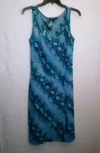 BCBG BLUE PRINT DRESS Wichita