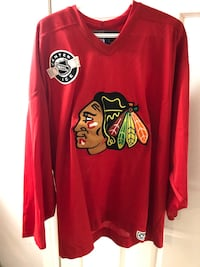 Chicago Black Hawks CCM Official Licensed NHL Jersey- Like New