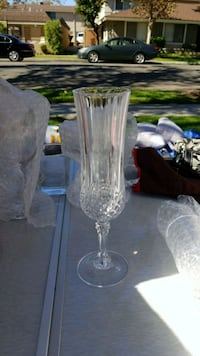 Crystal champagne flutes  Cerritos, 90703