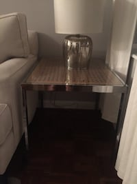Glass Side Table Washington