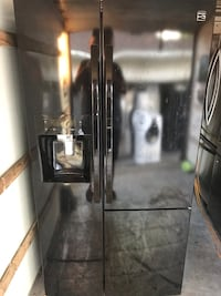 Kenmore-Black 3 Door refrigerator $400 Dearborn Heights, 48127