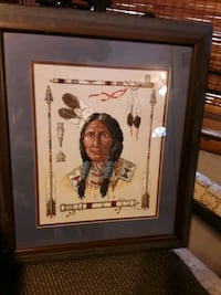 Chief  needlework  picture Des Moines, 50313