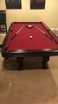 brown and red billiard table Capitol Heights, 20743