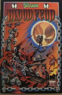 Spawn Blood Feud #1 Image 1995 Series Alan Moore