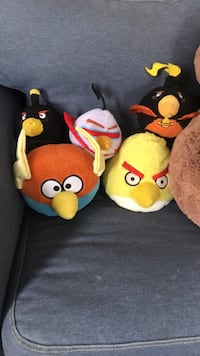 Lot of Angry Birds Plush