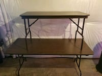 Large and small folding tables Southlake, 76092