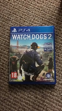 Watch Dogs 2 PS4 game case Lichfield, WS14 9XS