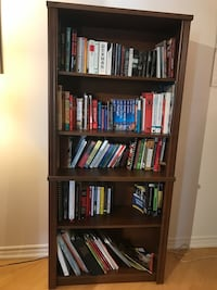 Wooden bookcase- like new condition Toronto, M5V
