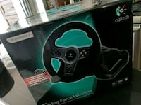 Logitech steering wheel  ps3/pc Surrey, V3S 3B9