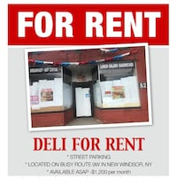 COMMERCIAL Deli for rent New Windsor