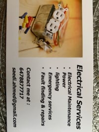Electrical and wiring repair Mississauga