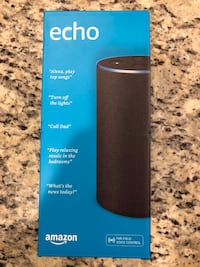 Black amazon echo speaker box Hoffman Estates, 60169